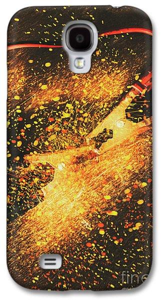 Industrial Jump Start Galaxy S4 Case by Jorgo Photography - Wall Art Gallery