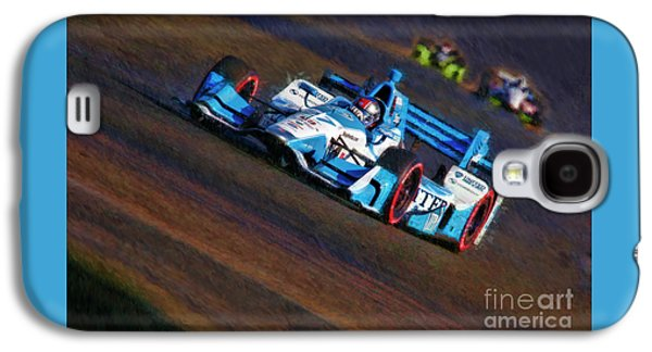 Indy Car Marco Andretti 2017 Galaxy S4 Case