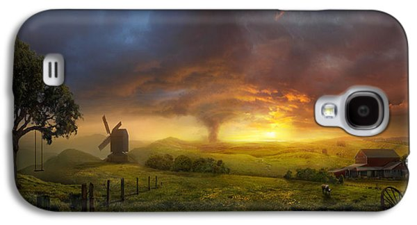 Wizard Galaxy S4 Case - Infinite Oz by Philip Straub
