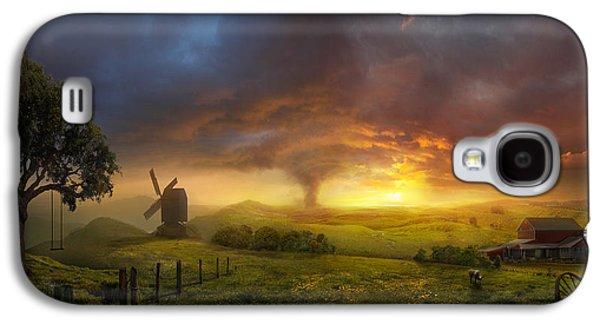 Fantasy Galaxy S4 Case - Infinite Oz by Philip Straub