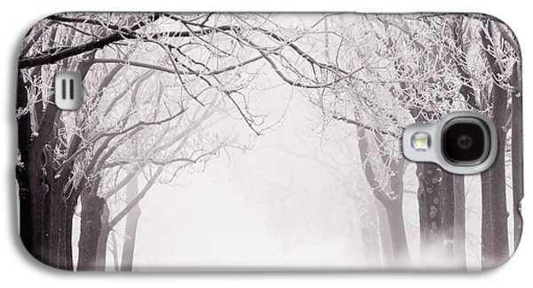 Infinity - Trees Covered With Hoar Frost On A Snowy Winter Day Galaxy S4 Case by Roeselien Raimond