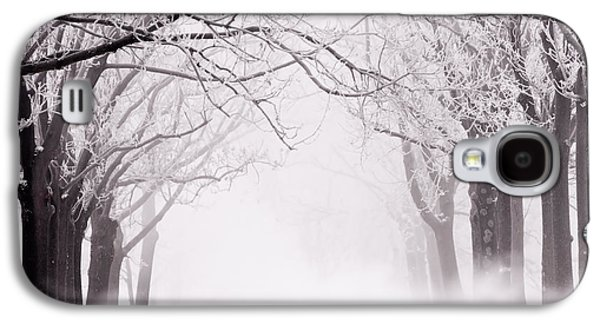 Infinity - Trees Covered With Hoar Frost On A Snowy Winter Day Galaxy S4 Case
