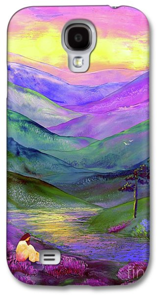 Inner Flame, Meditation Galaxy S4 Case by Jane Small