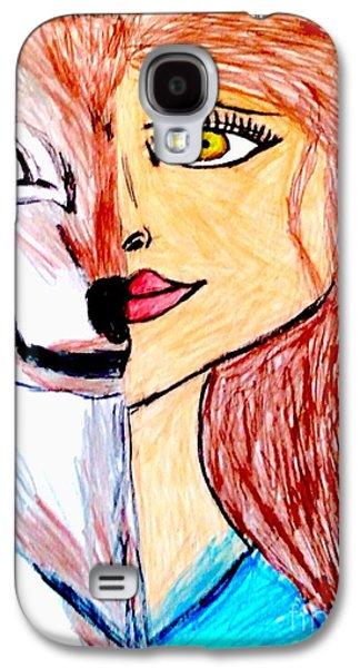 Inner Wolf Spirit Galaxy S4 Case
