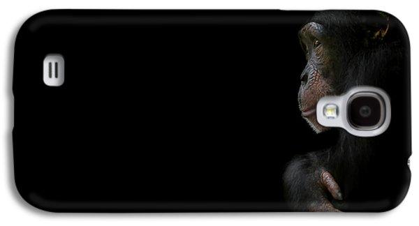 Chimpanzee Galaxy S4 Case - Innocence by Paul Neville