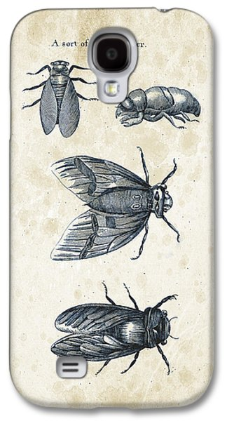 Insects - 1792 - 07 Galaxy S4 Case by Aged Pixel