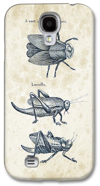 Insects - 1792 - 08 Galaxy S4 Case by Aged Pixel
