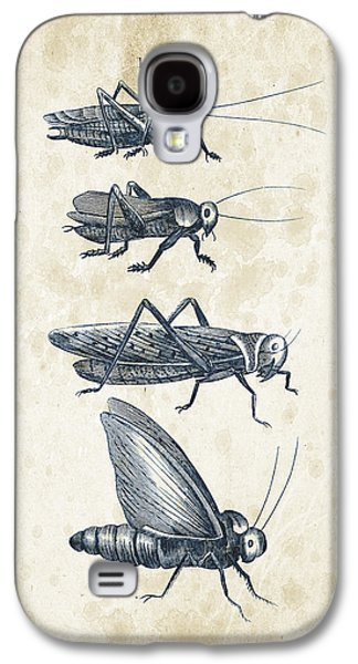 Insects - 1792 - 09 Galaxy S4 Case by Aged Pixel