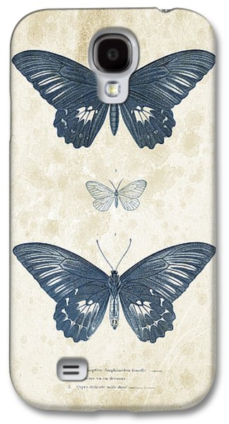 Insects - 1832 - 01 Galaxy S4 Case by Aged Pixel