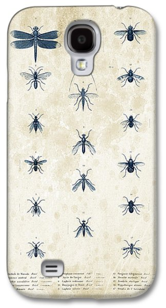Insects - 1832 - 12 Galaxy S4 Case by Aged Pixel