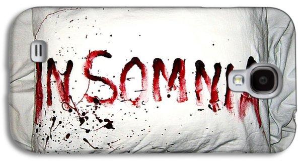 Insomnia Galaxy S4 Case by Nicklas Gustafsson