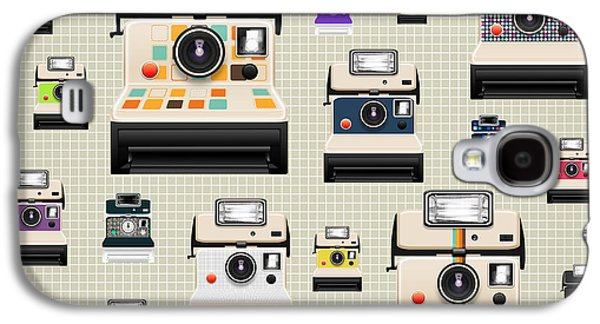 Instant Camera Pattern Galaxy S4 Case