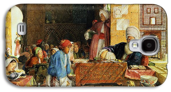 Interior Of A School - Cairo Galaxy S4 Case by John Frederick Lewis