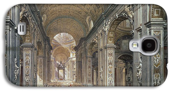Interior Of St Peter's, Rome, 1867 Galaxy S4 Case