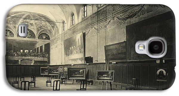 Interior Of The Dining Hall Of The Church Of Santa Maria Delle Grazie Milan Galaxy S4 Case