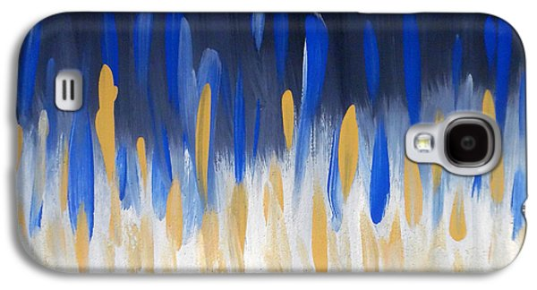 Internal Opposition Aka Maze N Blue Galaxy S4 Case by Jilian Cramb - AMothersFineArt