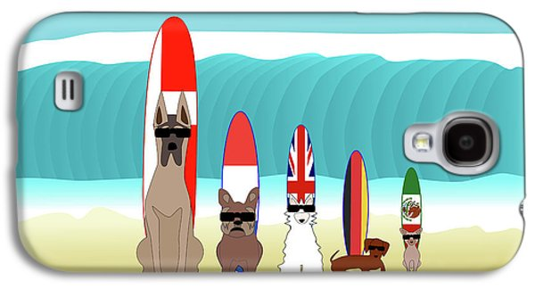 International Surf Competition Galaxy S4 Case by Beverley Brown