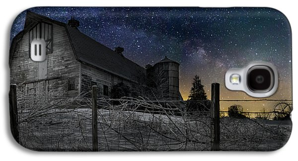 Galaxy S4 Case featuring the photograph Interstellar Farm by Bill Wakeley
