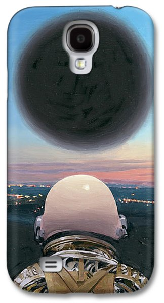 Galaxy S4 Case featuring the painting Into The Void by Scott Listfield