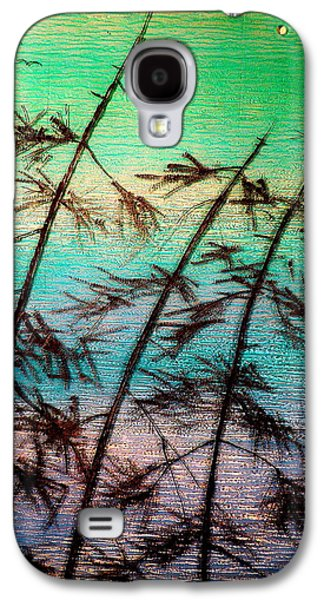 Landscapes Glass Art Galaxy S4 Cases - Into the Wind Galaxy S4 Case by Rick Silas