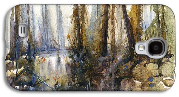 Into The Woods Galaxy S4 Case by Kristina Vardazaryan