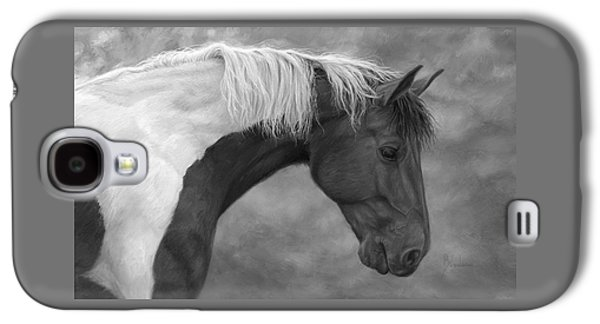 Intrigued - Black And White Galaxy S4 Case