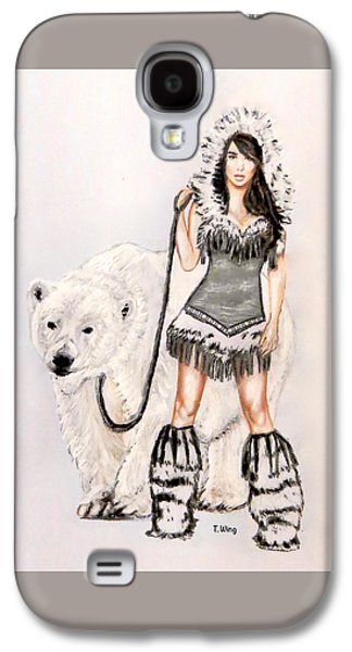Inuit Pin-up Girl Galaxy S4 Case