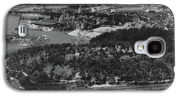 Inwood Hill Park Aerial, 1935 Galaxy S4 Case by Cole Thompson