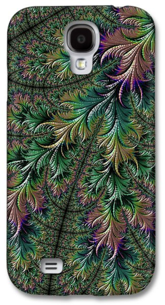Iridescent Feathers Galaxy S4 Case