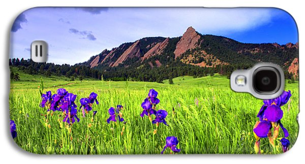 Iris And Flatirons Galaxy S4 Case