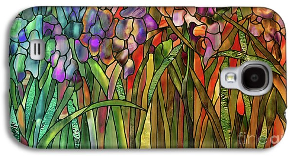 Iris Coloring Book Galaxy S4 Case by Mindy Sommers