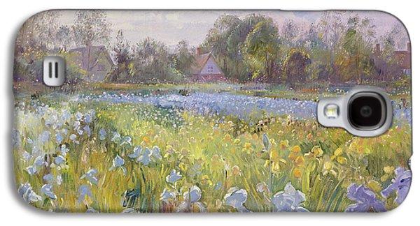 Iris Field In The Evening Light Galaxy S4 Case