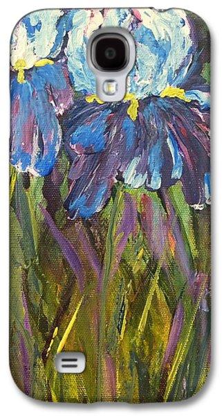 Iris Floral Garden Galaxy S4 Case