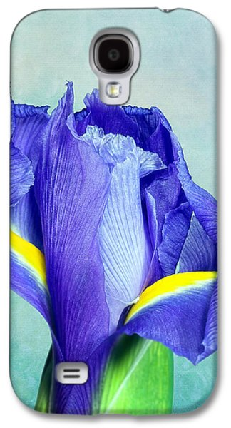 Iris Flower Of Faith And Hope Galaxy S4 Case by Tom Mc Nemar