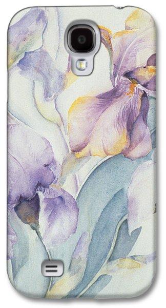 Iris Galaxy S4 Case by Karen Armitage
