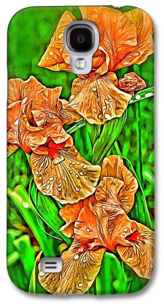 Iris Spring Galaxy S4 Case by Mindy Newman