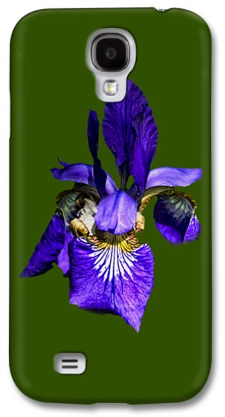 Galaxy S4 Case featuring the photograph Iris Versicolor by Mark Myhaver