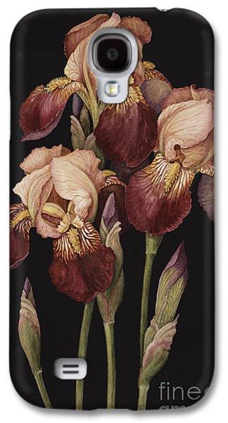 Irises Galaxy S4 Case by Jenny Barron