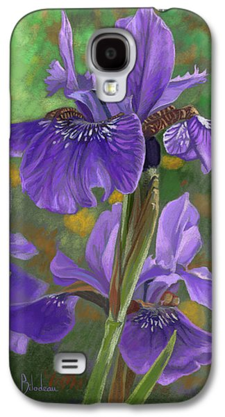 Irises Galaxy S4 Case by Lucie Bilodeau