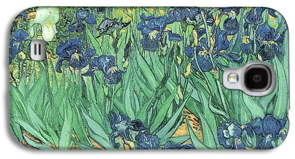 Snake Galaxy S4 Case - Irises by Vincent Van Gogh