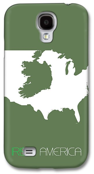 Irish America Poster Galaxy S4 Case by Naxart Studio