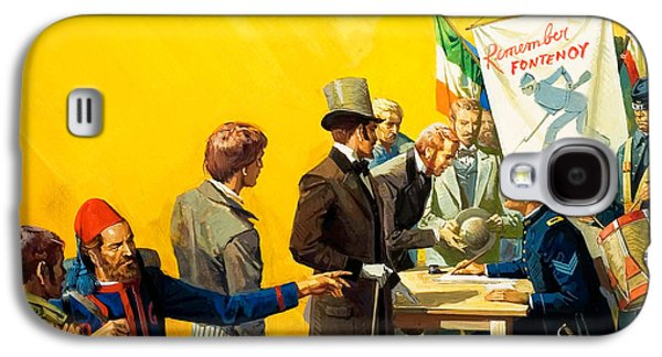 Irish Recruitment For The American Civil War Galaxy S4 Case
