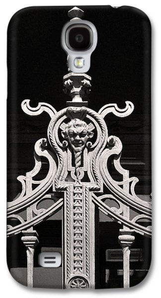 Iron Sculptures Galaxy S4 Cases - Iron Gate Sculpture Budapest Galaxy S4 Case by James Dougherty