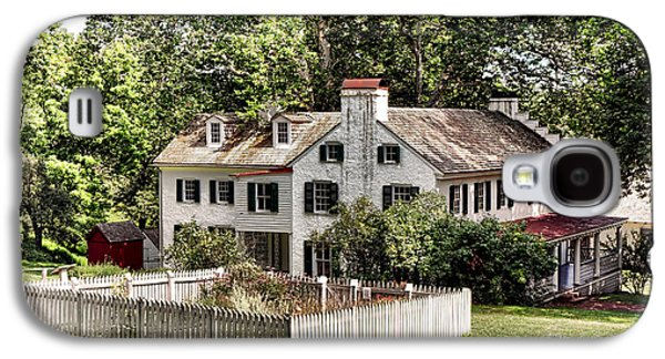 Ironmaster Mansion At Hopewell Furnace  Galaxy S4 Case by Olivier Le Queinec