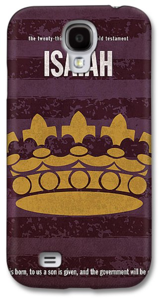 Isaiah Books Of The Bible Series Old Testament Minimal Poster Art Number 23 Galaxy S4 Case