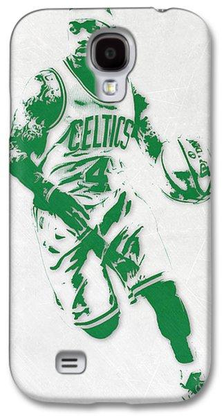 Isaiah Thomas Boston Celtics Pixel Art 2 Galaxy S4 Case by Joe Hamilton