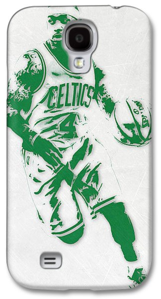 Isaiah Thomas Boston Celtics Pixel Art 2 Galaxy S4 Case