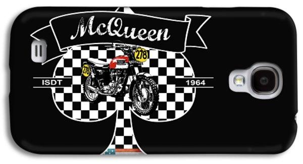 Isdt Triumph Steve Mcqueen Galaxy S4 Case by Mark Rogan