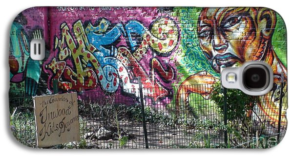 Isham Park Graffiti  Galaxy S4 Case by Cole Thompson