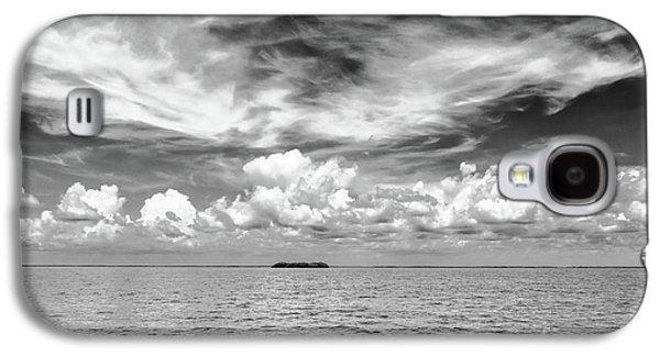 Island, Clouds, Sky, Water Galaxy S4 Case